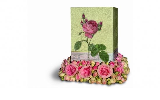 """Zierurne """"The Rose"""""""