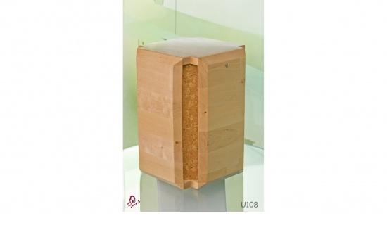 Zierurne Holz Rondo